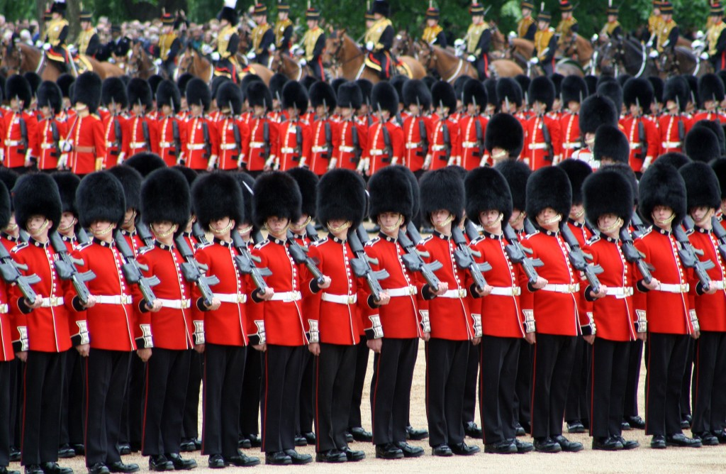 Coldstream Guards - Eyes Right!