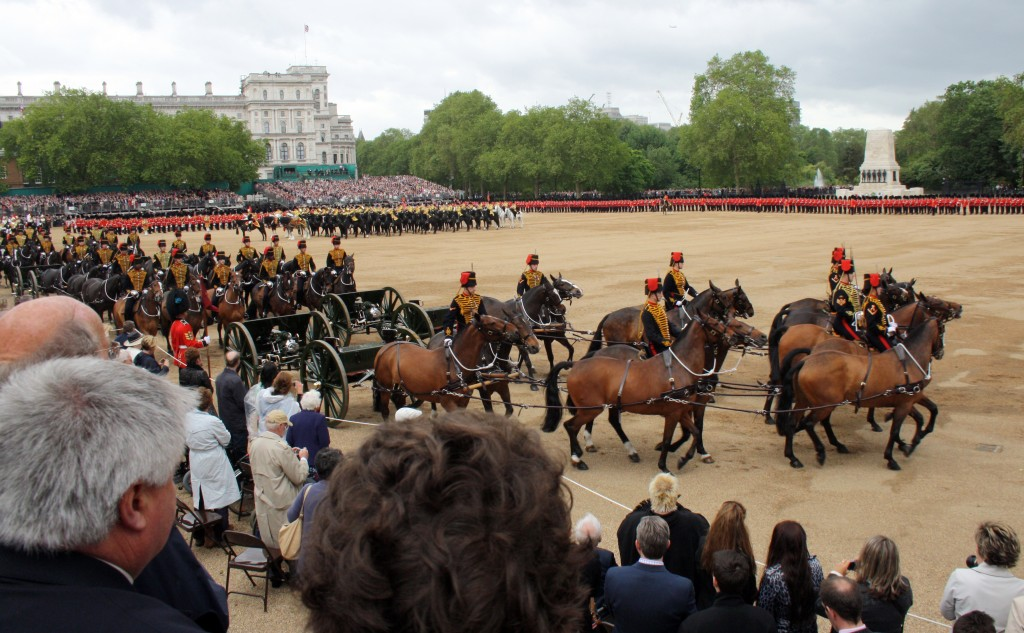 The King's Troop Royal Horse Artillery