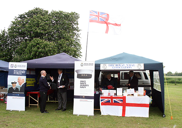 The Stall...easy to spot in any crowd
