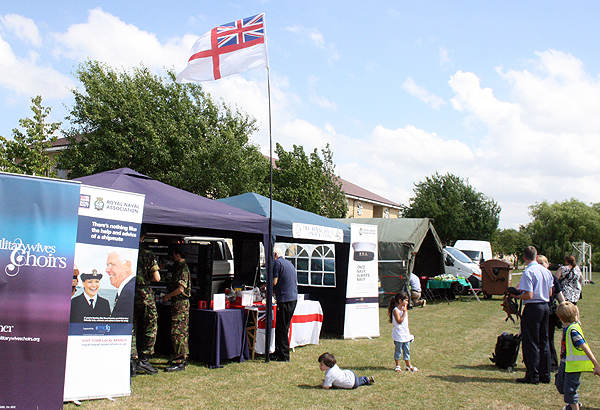 St Neots Gazebo's with Ensign