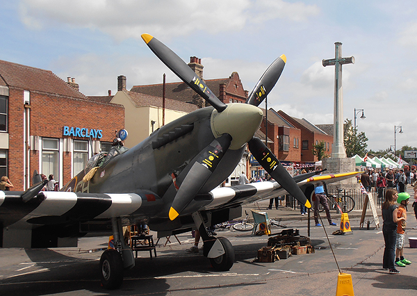 ...and a Spitfire