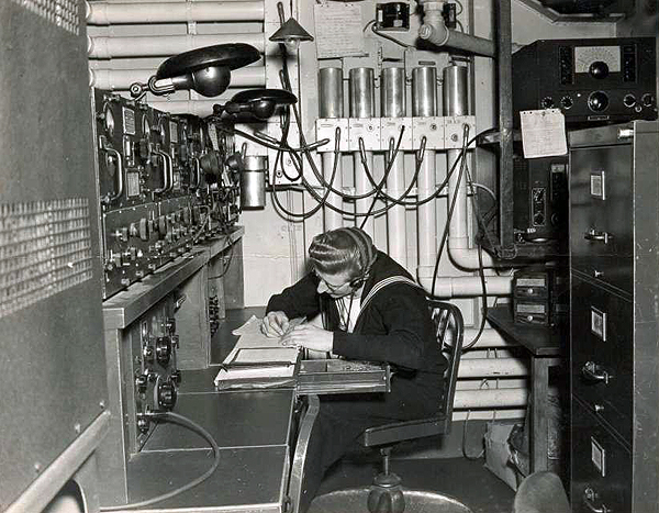 Grove Dove at Work, 1945