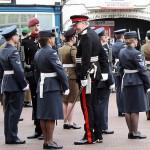 Deputy Lord Lieutenant, Col Derek Bristow OBE takes time to chat