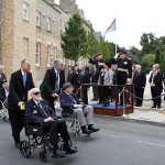 ...and of course, the Pathfinder Veterans also parade through Huntingdon