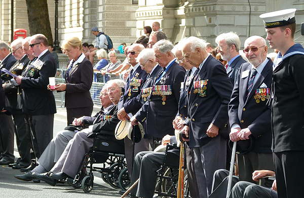 Arctic veterans, the pride of the Royal Navy
