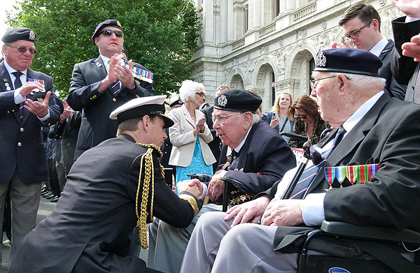 Time to honour our veterans: Photograph © Nigel Huxtable, RNA HQ