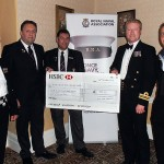 And the highlight, our fundraising efforts will go to the RN&RMC