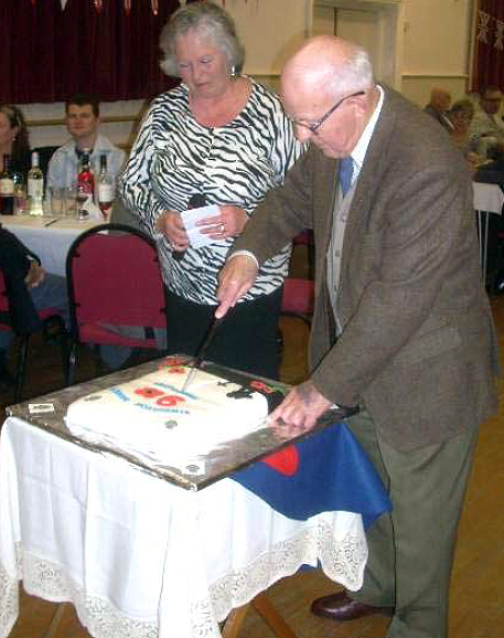 Jack Boatman DSM at the 90th Anniversary of the formation of Kimbolton Branch (9 March 2012)