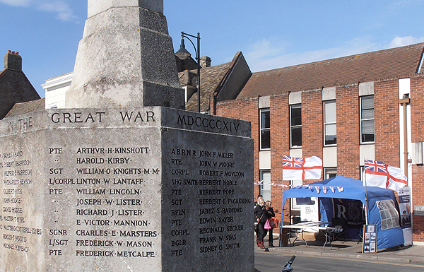 St Ives War Memorial, a reminder of why we must always remember our Armed Forces