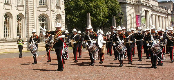 The Band of HM Royal Marines, Copyright Andrew Clark