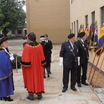 Royal British Legion Personnel and the Mayoral party