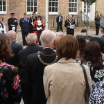 Guests include former Councillors, armed forces, and community representatives