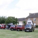 Camper vans owned by RAF Wyton staff