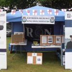 The RNA Stall dressed for the gala