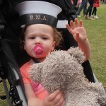 Even the little ones want a naval hat