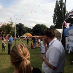 The annual balloon race