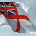 Once again, Huntingdon RNA fly the Naval Ensign to spread the word