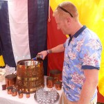 Topping up the Rum Tub