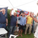 The Chairman, S/M Bill Small calls for the Loyal Toast