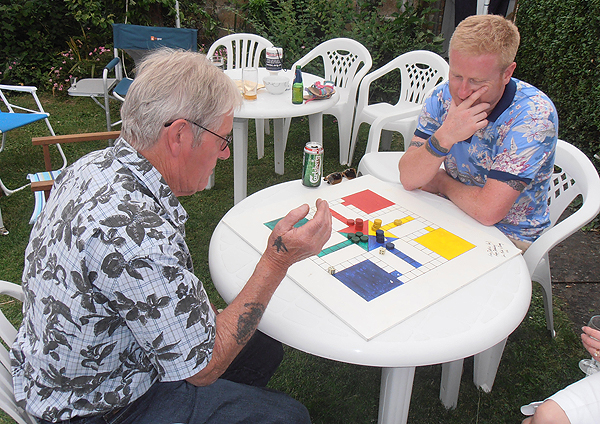 A quick game of uckers