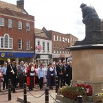 Huntingdon Town Mayor, Cllr Bill Hensley, reflects on those who were lost in battle