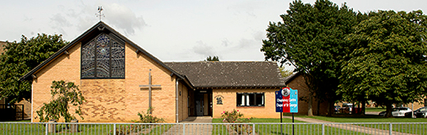 St George's Chapel, RAF Wyton (CROWN COPYRIGHT)