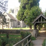 The Lych gate and Church of St. Mary Magdalene