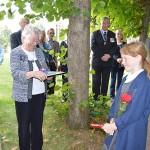 Presentations for the relatives of Lenham