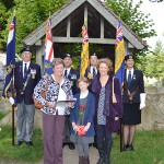 Group photographs with the Standard Bearers