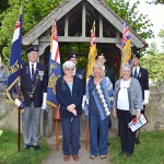 Group photos with the Standard Bearers