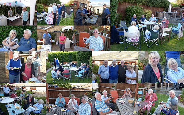 BBQ at Mike's (Photographs St Neots RNA)