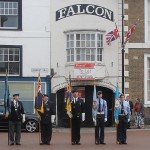 Standard Bearers from the RAFA, RBL and Air Cadets