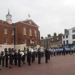 The Parade draws to a close