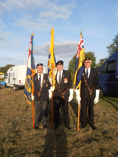 RNA and RBL Standards to be paraded for the Sunset Ceremony