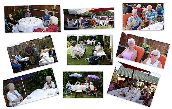 Vintage Tea Party (Photographs St Neots RNA)