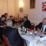 The guest of honor, Cllr Bill Hensley, the Mayor of Huntingdon
