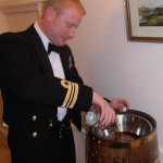 Shipmate Andy Duthie, Rum Bosun for the night