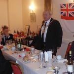 The Mayor gives a talk on Lt John Pasco, Nelson's Signal Lt