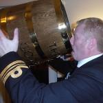 Shipmate Andy Duthie hates waste