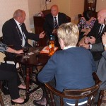 Shipmates retire to the bar