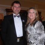 Shipmates Karl and Hilary Webb