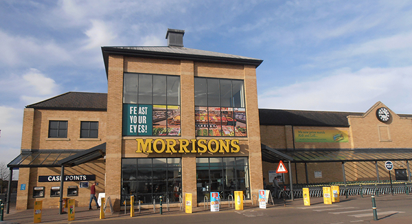 The Morrisons store in Cambourne, Cambridgeshire