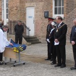 Blessing of the Commonwealth Flag by Reverend Andrew Milton