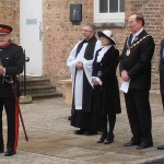 The Deputy Lord Lieutenant gives a final speech
