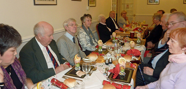post Christmas lunch