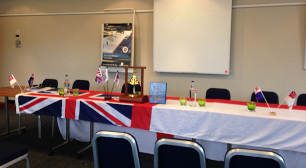 Table is set for the AGM