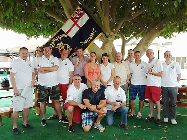 Shipmates at the 2nd Branch meeting in Qatar