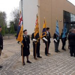 Standard Bearers from the RNA, RBL, and RAFA
