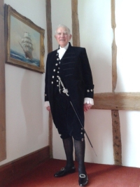 S/M Victor Lucas as High Sheriff (Photo copyright the High Sheriff's Association of England and Wales)