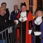 Huntingdon's VE Day Ceremony, 2015